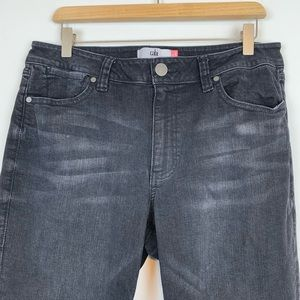 CAbi Jeans - Cabi Jeans Women's Black Size 12 High Straight G1